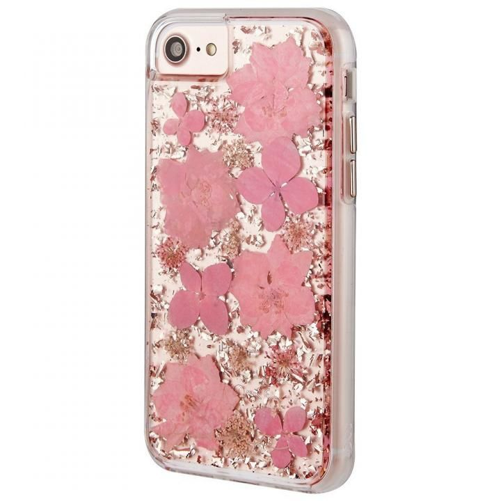 iPhone8/7/6s/6 ケース Case-Mate Karat ドライフラワーケース ピンク iPhone 8/7/6s/6_0