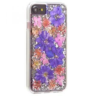 【iPhone8/7/6s/6ケース】Case-Mate Karat ドライフラワーケース パープル iPhone 8/7/6s/6