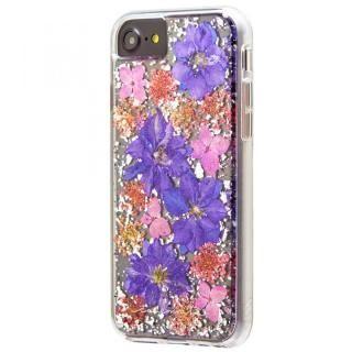 【iPhone8/7/6s/6ケース】Case-Mate Karat ドライフラワーケース パープル iPhone 8/7/6s/6_1