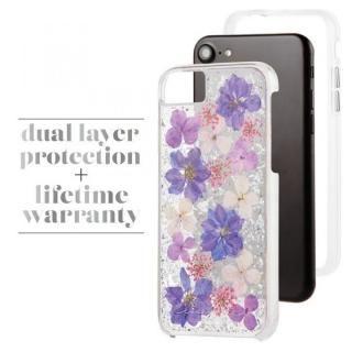 【iPhone8/7/6s/6ケース】Case-Mate Karat ドライフラワーケース パープル iPhone 8/7/6s/6_4