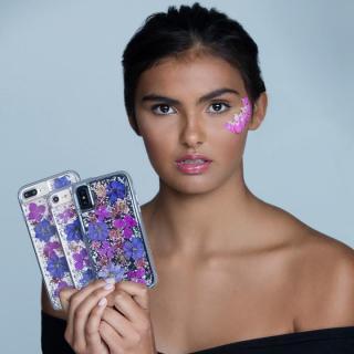 【iPhone8/7/6s/6ケース】Case-Mate Karat ドライフラワーケース パープル iPhone 8/7/6s/6_5