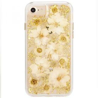 Case-Mate Karat ドライフラワーケース ホワイト iPhone 8/7/6s/6