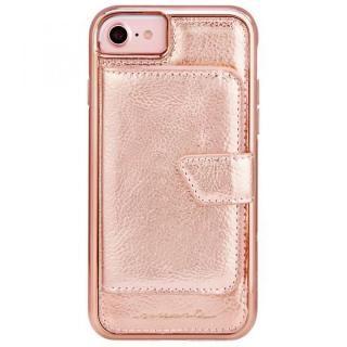 【iPhone8/7/6s/6ケース】Case-Mate コンパクトミラーケース ローズゴールド iPhone 8/7/6s/6