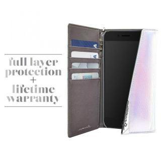【iPhone8/7/6s/6ケース】Case-Mate Leather Wrsitlet Folio シルバー iPhone 8/7/6s/6_3