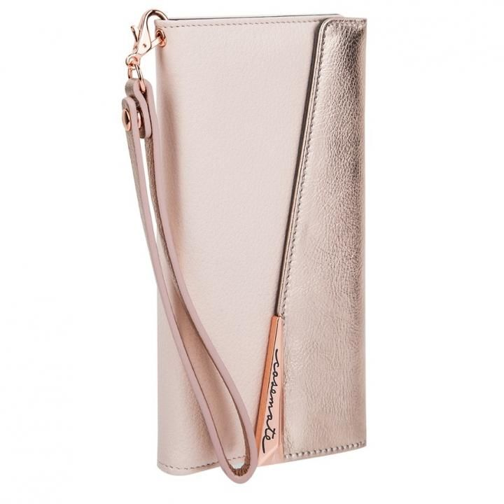 iPhone8/7/6s/6 ケース Case-Mate Leather Wrsitlet Folio ローズゴールド iPhone 8/7/6s/6_0