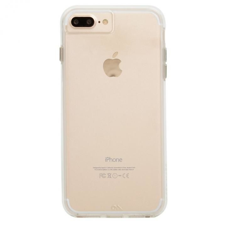【iPhone8 Plus/7 Plusケース】Case-Mate Naked Tough ハイブリッドクリアケース iPhone 8 Plus/7 Plus/6s Plus/6 Plus(拡大画像)