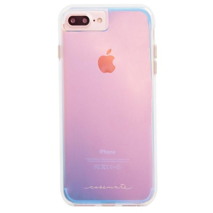 【iPhone8 Plus/7 Plusケース】Case-Mate Naked タフケース Iridescent iPhone 8 Plus/7 Plus/6s Plus/6 Plus_0
