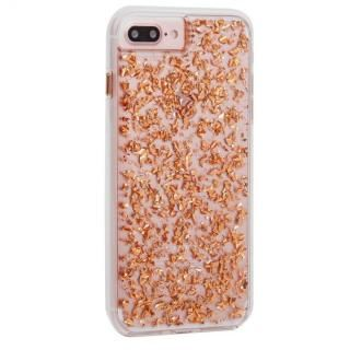 Case-Mate Karat ケース Rose Gold iPhone 8 Plus/7 Plus/6s Plus/6 Plus