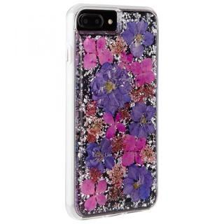 【iPhone8 Plus/7 Plusケース】Case-Mate Karat ドライフラワーケース パープル iPhone 8 Plus/7 Plus/6s Plus/6 Plus_1
