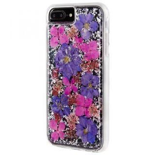 【iPhone8 Plus/7 Plusケース】Case-Mate Karat ドライフラワーケース パープル iPhone 8 Plus/7 Plus/6s Plus/6 Plus_2