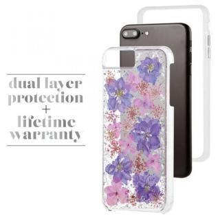 【iPhone8 Plus/7 Plusケース】Case-Mate Karat ドライフラワーケース パープル iPhone 8 Plus/7 Plus/6s Plus/6 Plus_3