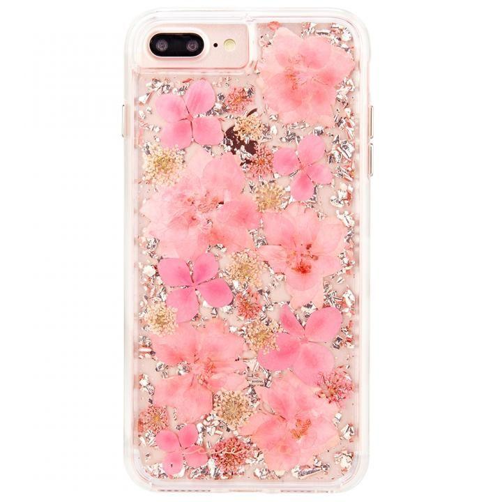 iPhone8 Plus/7 Plus ケース Case-Mate Karat ドライフラワーケース ピンク iPhone 8 Plus/7 Plus/6s Plus/6 Plus_0