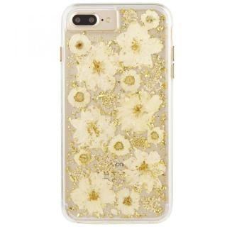 Case-Mate Karat ドライフラワーケース ホワイト iPhone 8 Plus/7 Plus/6s Plus/6 Plus