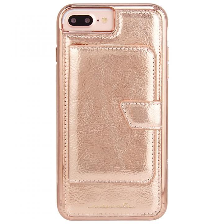 【iPhone8 Plus/7 Plusケース】Case-Mate コンパクトミラーケース ローズゴールド iPhone 8 Plus/7 Plus/6s Plus/6 Plus_0