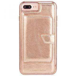 Case-Mate コンパクトミラーケース ローズゴールド iPhone 8 Plus/7 Plus/6s Plus/6 Plus