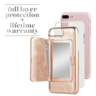 【iPhone8 Plus/7 Plusケース】Case-Mate コンパクトミラーケース ローズゴールド iPhone 8 Plus/7 Plus/6s Plus/6 Plus_4