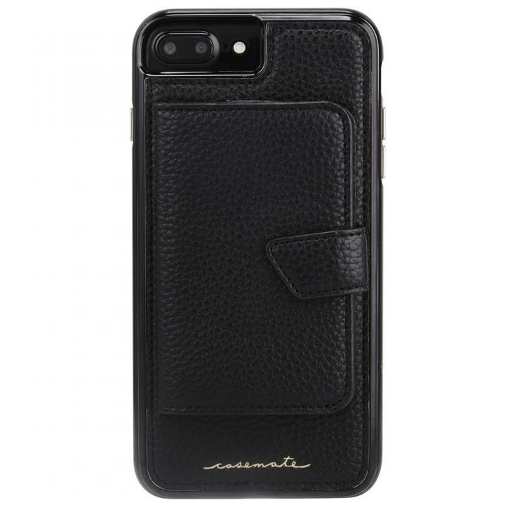 iPhone8 Plus/7 Plus ケース Case-Mate コンパクトミラーケース ブラック iPhone 8 Plus/7 Plus/6s Plus/6 Plus_0