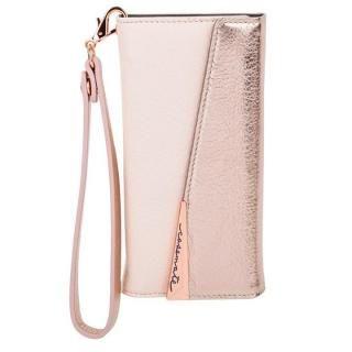 Case-Mate Leather Wrsitlet Folio ローズゴールド iPhone 8 Plus/7 Plus/6s Plus/6 Plus