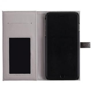 【iPhone8 Plus/7 Plusケース】ONETONE PYTHON 手帳型ケース グレイ iPhone 8 Plus/7 Plus/6s Plus/6 Plus_3