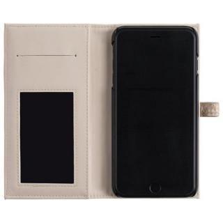 【iPhone8 Plus/7 Plusケース】ONETONE PYTHON 手帳型ケース ベージュ iPhone 8 Plus/7 Plus/6s Plus/6 Plus_3