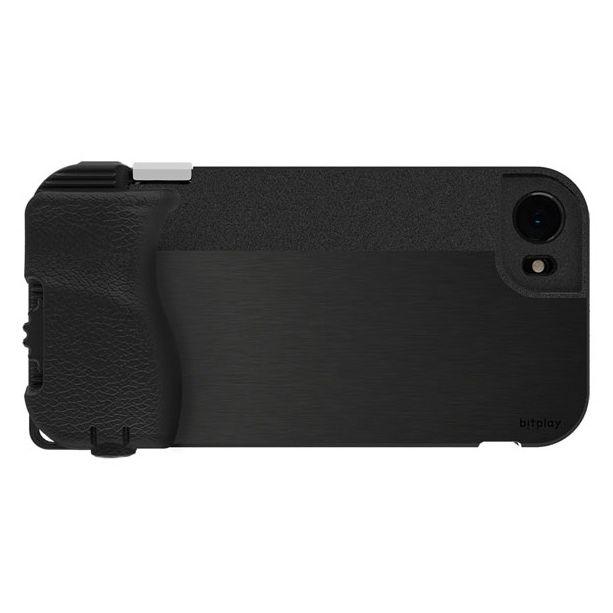 iPhone8/7 ケース SNAP! 8 物理シャッターボタン搭載ケース ブラック iPhone 8/7_0