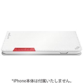 【iPhone7ケース】LINKBOOK PRO 4Gシグナル拡張手帳型ケース ホワイト iPhone 7_4