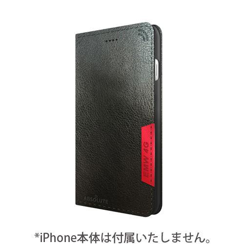 iPhone7 ケース LINKBOOK PRO 4Gシグナル拡張手帳型ケース ブラック iPhone 7_0
