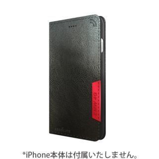 iPhone7 ケース LINKBOOK PRO 4Gシグナル拡張手帳型ケース ブラック iPhone 7