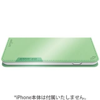 【iPhone7ケース】LINKBOOK PRO 4Gシグナル拡張手帳型ケース グリーン iPhone 7_4