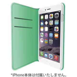 【iPhone7ケース】LINKBOOK PRO 4Gシグナル拡張手帳型ケース グリーン iPhone 7_5