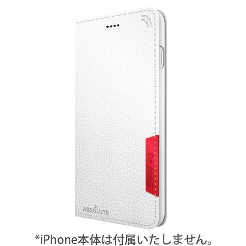 【iPhone7 Plusケース】LINKBOOK PRO 4Gシグナル拡張手帳型ケース ホワイト iPhone 7 Plus_0