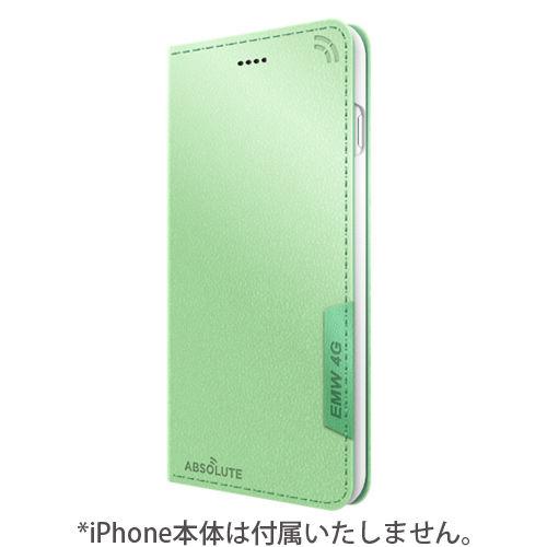 【iPhone7 Plusケース】LINKBOOK PRO 4Gシグナル拡張手帳型ケース グリーン iPhone 7 Plus_0