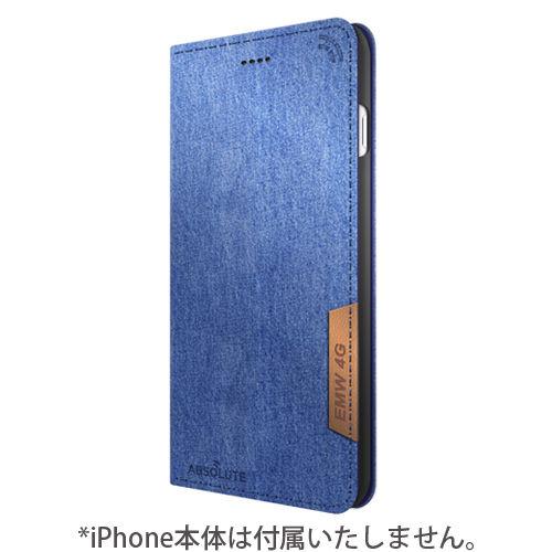 【iPhone7 Plusケース】LINKBOOK PRO 4Gシグナル拡張手帳型ケース デニム iPhone 7 Plus_0