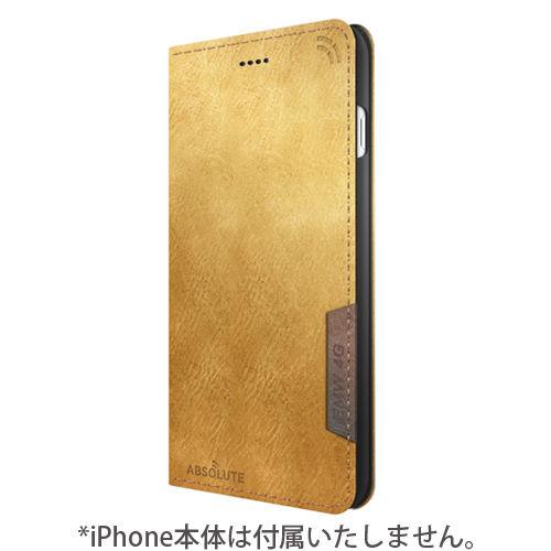 iPhone7 Plus ケース LINKBOOK PRO 4Gシグナル拡張手帳型ケース ライトブラウン iPhone 7 Plus_0