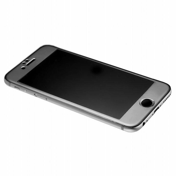 iPhone6 [0.33mm]強化ガラス一体型アルミパネル iFinger セット グレイ iPhone 6_0