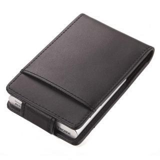 スキミング防止機能 アルミ カードケース ブラック&シルバー