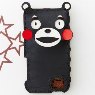 iPhone SE/5s/5 ケース くまモン iPhone SE/5s/5ケース/黒