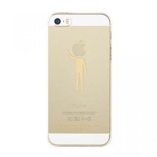 iTattoo5 iPhone SE/5s/5ケース I'm a believer ゴールド