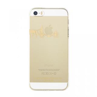 iPhone SE/5s/5 ケース iTattoo5 iPhone SE/5s/5ケース carriage of apple ゴールド