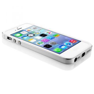 【iPhone SE/5s/5ケース】iPhone SE/5s/5 ケース ネオ・ハイブリッド EXスリム メタルシリーズ [サテン・シルバー]_2