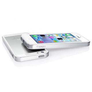 【iPhone SE/5s/5ケース】iPhone SE/5s/5 ケース ネオ・ハイブリッド EXスリム メタルシリーズ [サテン・シルバー]_3