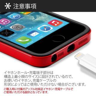 【iPhone SE/5s/5ケース】iPhone SE/5s/5 ケース ネオ・ハイブリッド EXスリム メタルシリーズ [サテン・シルバー]_5