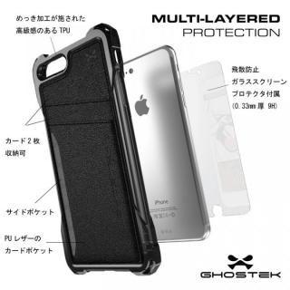 【iPhone7 Plusケース】TPU+PUレザー ハイブリッドウォレットケース Ghostek Exec ゴールド iPhone 7 Plus_4