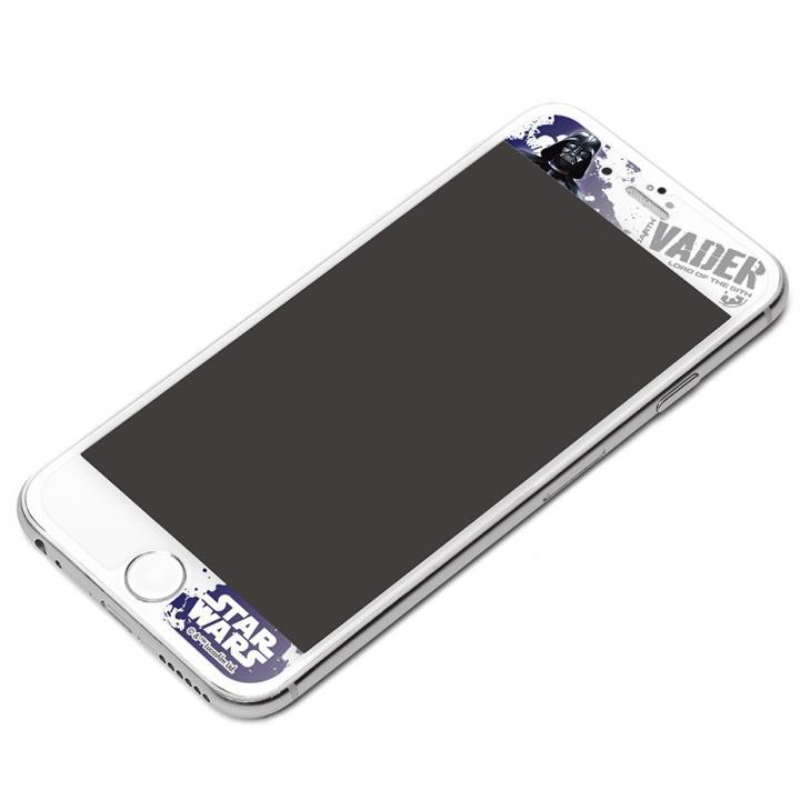 【iPhone6フィルム】スター・ウォーズ 衝撃軽減液晶保護フィルム ダースベイダー iPhoen 6_0