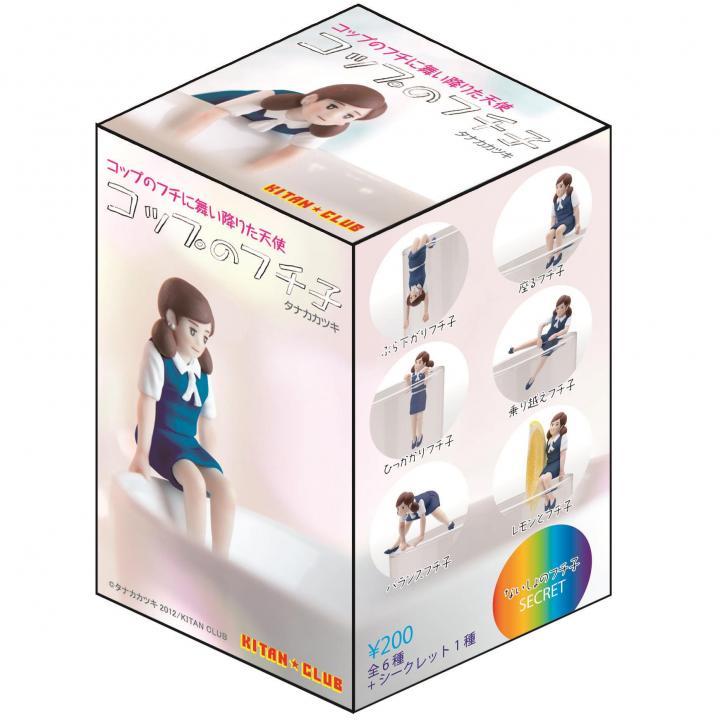コップのフチ子 ネイビー(BOX) 単品_0