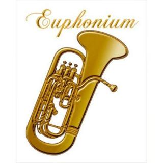 蒔絵シール 楽器 ユーフォニアム
