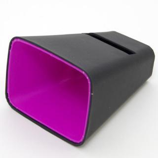 電源不要の紙製スピーカースタンド スマートホーン ブラック×パープル iPhone 4/4S/5/5S/5C