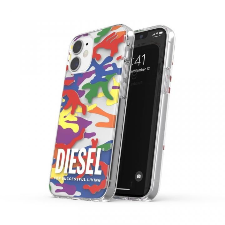 DIESEL+Pride Clear Case SS21 colourful iPhone 12 mini_0