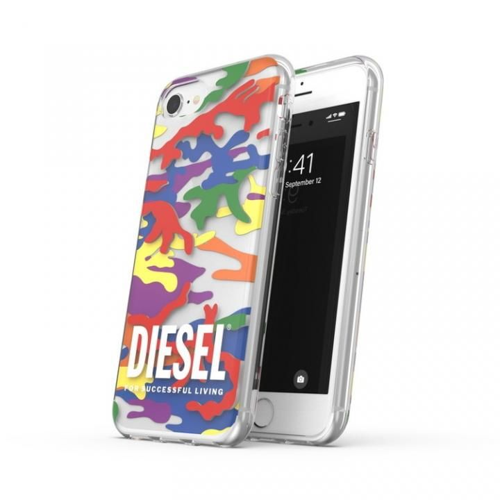 iPhone8/7 ケース DIESEL+Pride Clear Case SS21 colourful iPhone SE2/8/7_0