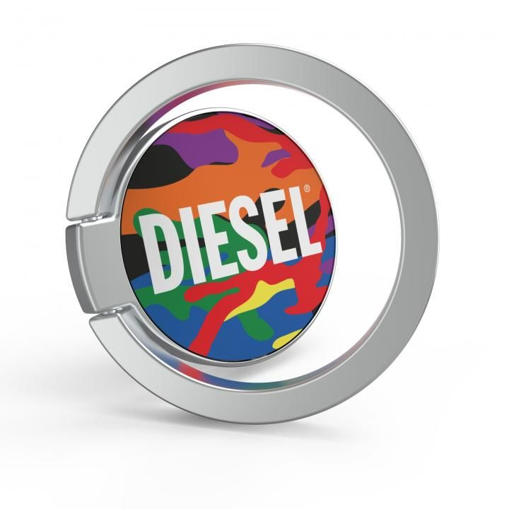 DIESEL Universal Ring Pride Camo SS21 colourful_0